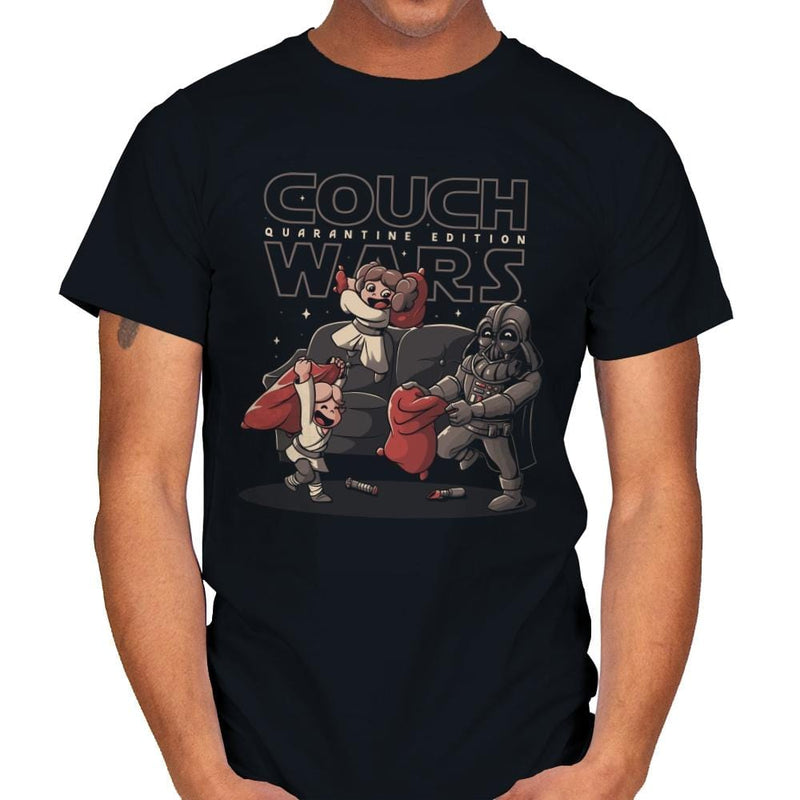 Couch Wars - Mens - T-Shirts - RIPT Apparel