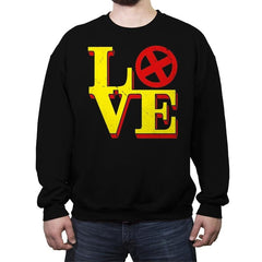 Mutant Love - Crew Neck Sweatshirt - Crew Neck Sweatshirt - RIPT Apparel
