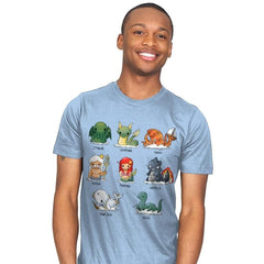 Sea Monsters - Mens - T-Shirts - RIPT Apparel
