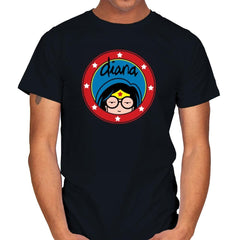 Diana - Wonderful Justice - Mens - T-Shirts - RIPT Apparel