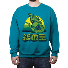 King of Papercraft - Crew Neck Sweatshirt - Crew Neck Sweatshirt - RIPT Apparel
