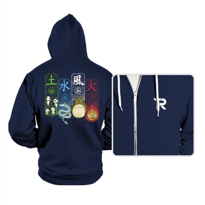 Elemental Charms - Hoodies - Hoodies - RIPT Apparel