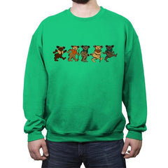 Grateful Woks - Crew Neck Sweatshirt - Crew Neck Sweatshirt - RIPT Apparel