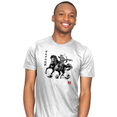 Wild Hunter sumi-e - Mens - T-Shirts - RIPT Apparel
