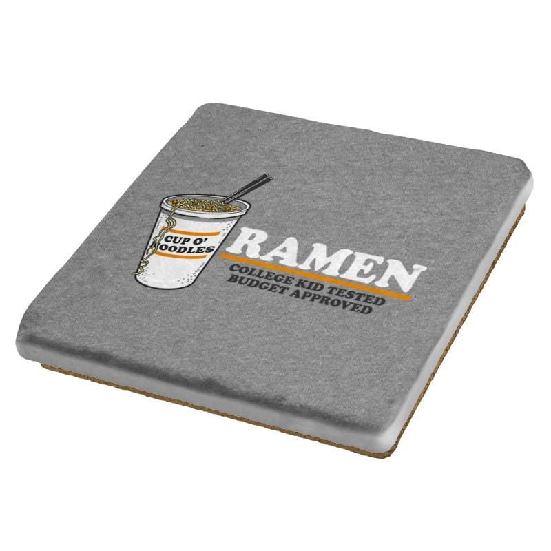 Ramen Budgest Approved Exclusive - Coasters - Coasters - RIPT Apparel