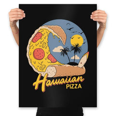 Hawaiian Pizza - Prints - Posters - RIPT Apparel