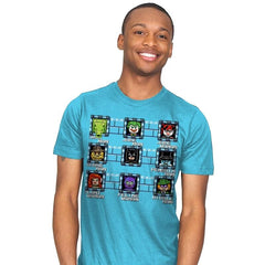 MegaBat Brick Masters - Mens - T-Shirts - RIPT Apparel