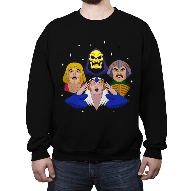 Eternia Rhapsody - Crew Neck Sweatshirt - Crew Neck Sweatshirt - RIPT Apparel