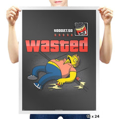 WASTED Exclusive - Prints - Posters - RIPT Apparel