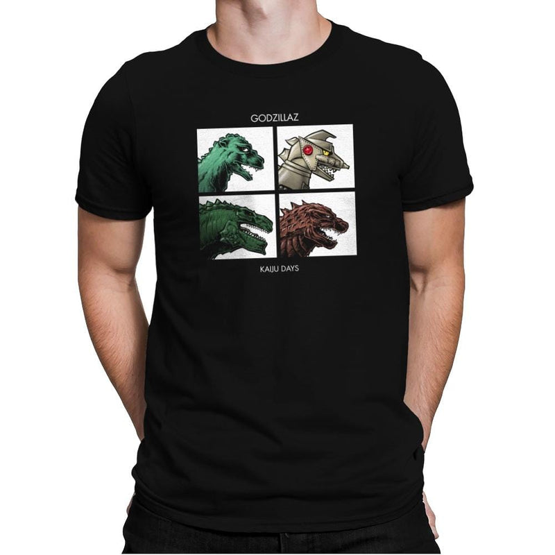 Godzillaz - Kaiju Days Exclusive - Mens Premium - T-Shirts - RIPT Apparel