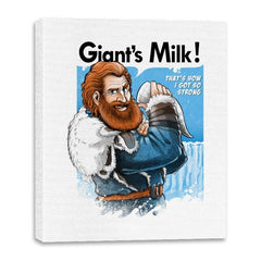 Giant's Milk! - Canvas Wraps - Canvas Wraps - RIPT Apparel