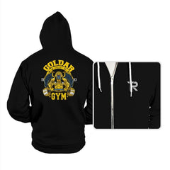 Goldar Gym - Hoodies - Hoodies - RIPT Apparel