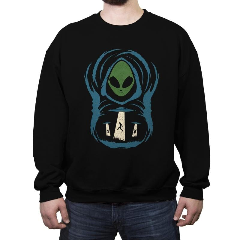 The Abduction In The Field - Crew Neck Sweatshirt - Crew Neck Sweatshirt - RIPT Apparel