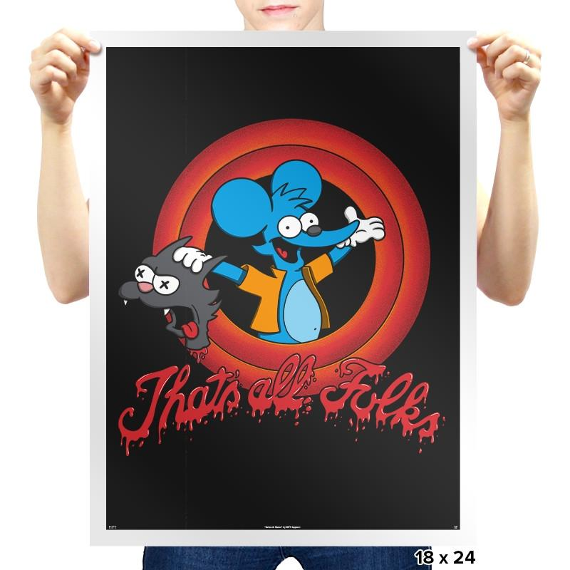 That's All Folks Exclusive - Prints - Posters - RIPT Apparel