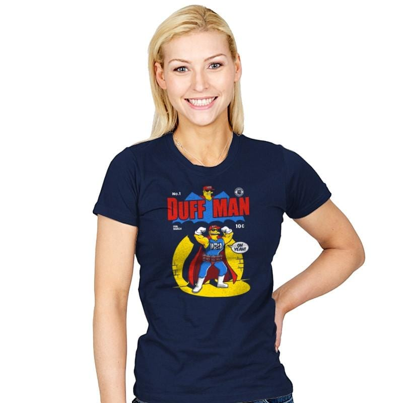 Duffman - Womens - T-Shirts - RIPT Apparel
