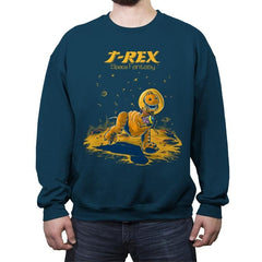 Rex Space Fantasy - Crew Neck Sweatshirt - Crew Neck Sweatshirt - RIPT Apparel