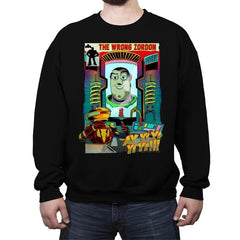 The Wrong Mentor - Crew Neck Sweatshirt - Crew Neck Sweatshirt - RIPT Apparel