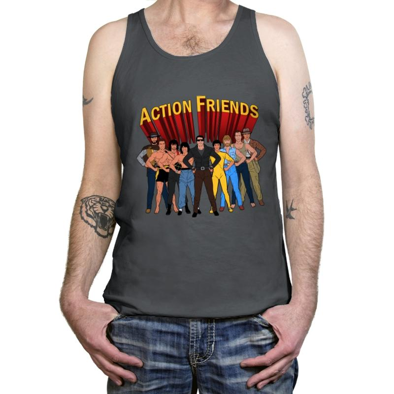 Action Friends - Tanktop - Tanktop - RIPT Apparel