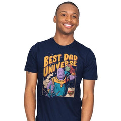 The Best Dad in the Universe - Mens - T-Shirts - RIPT Apparel