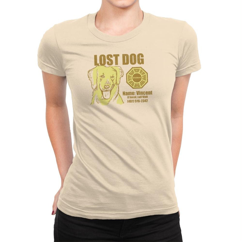 Lost Dog Exclusive - Womens Premium - T-Shirts - RIPT Apparel