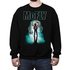 The McFly - Crew Neck Sweatshirt - Crew Neck Sweatshirt - RIPT Apparel