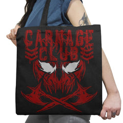 CARNAGE CLUB Exclusive - Tote Bag - Tote Bag - RIPT Apparel