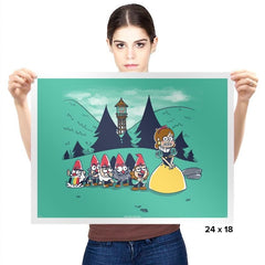 Mabel and the Seven Gnomes Exclusive - Prints - Posters - RIPT Apparel