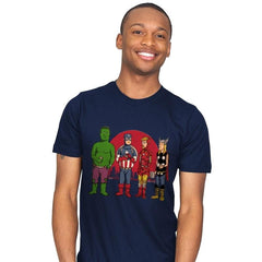 King of the Heroes Reprint - Mens - T-Shirts - RIPT Apparel
