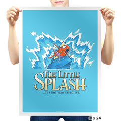The Little Splash Exclusive - Prints - Posters - RIPT Apparel
