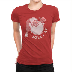 Jolly AF - Womens Premium - T-Shirts - RIPT Apparel