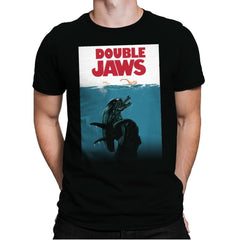 Double Jaws - Mens Premium - T-Shirts - RIPT Apparel