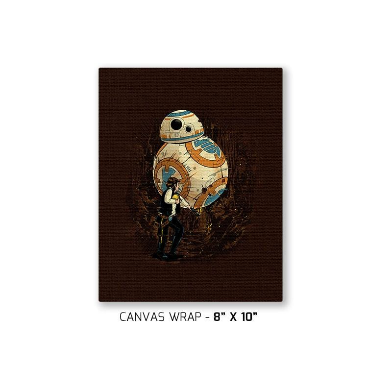 Indiana Solo Exclusive - Canvas Wraps - Canvas Wraps - RIPT Apparel