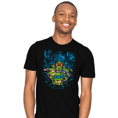 Poke Turtles - Mens - T-Shirts - RIPT Apparel