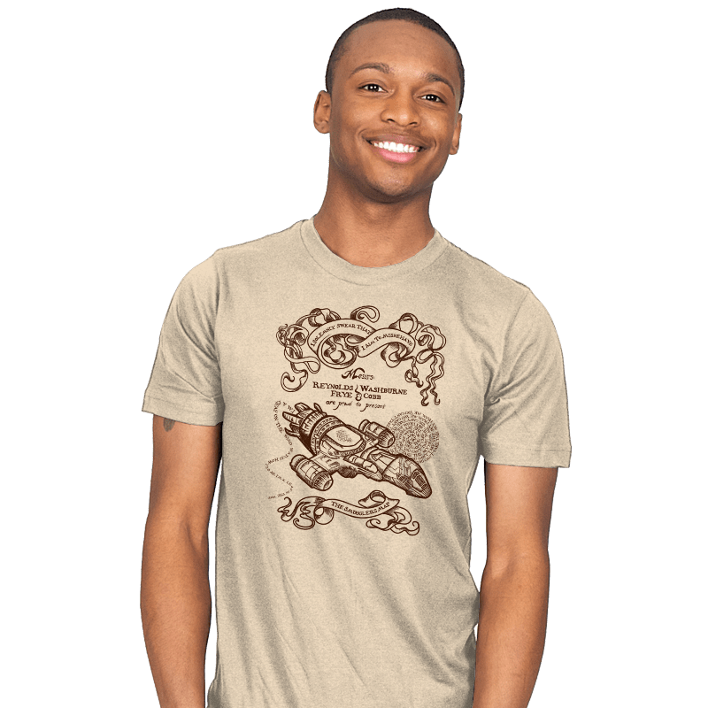 The Smuggler's Map - Mens - T-Shirts - RIPT Apparel