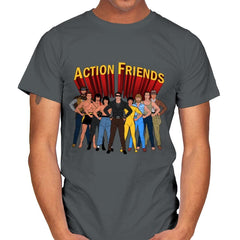 Action Friends - Mens - T-Shirts - RIPT Apparel