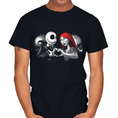Her Skeleton, His Doll - Mens - T-Shirts - RIPT Apparel
