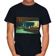 NightDroids - Mens - T-Shirts - RIPT Apparel