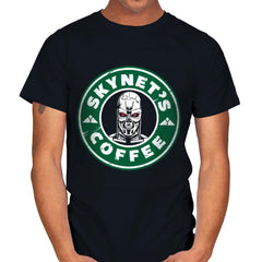 Skynet's Coffee - Mens - T-Shirts - RIPT Apparel