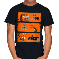 The Good, The Bad and The Snobby - Mens - T-Shirts - RIPT Apparel