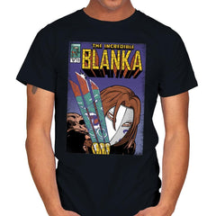 The Incredible Blanka! - Mens - T-Shirts - RIPT Apparel