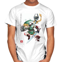 Twilight Princess Watercolor - Mens - T-Shirts - RIPT Apparel