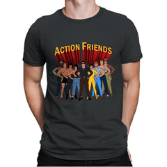 Action Friends - Mens Premium - T-Shirts - RIPT Apparel