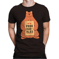 Free Cuddles - Mens Premium - T-Shirts - RIPT Apparel