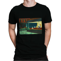 NightDroids - Mens Premium - T-Shirts - RIPT Apparel