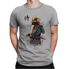Samurai Watercolor - Mens Premium - T-Shirts - RIPT Apparel