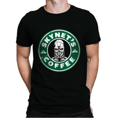 Skynet's Coffee - Mens Premium - T-Shirts - RIPT Apparel