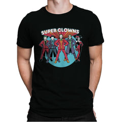 Super Clowns - Mens Premium - T-Shirts - RIPT Apparel