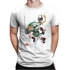 Twilight Princess Watercolor - Mens Premium - T-Shirts - RIPT Apparel