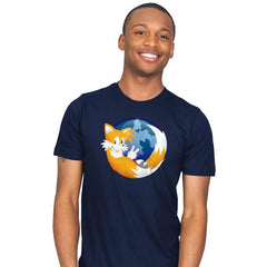 Tailsfox - 90s Kid - Mens - T-Shirts - RIPT Apparel