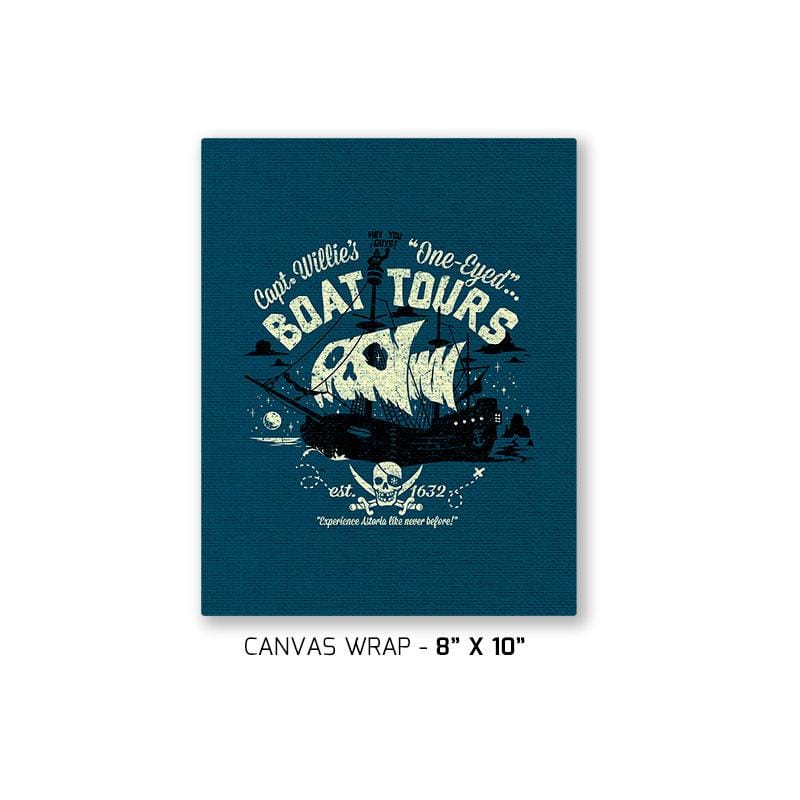 One-Eyed Boat Tours Exclusive - Canvas Wraps - Canvas Wraps - RIPT Apparel